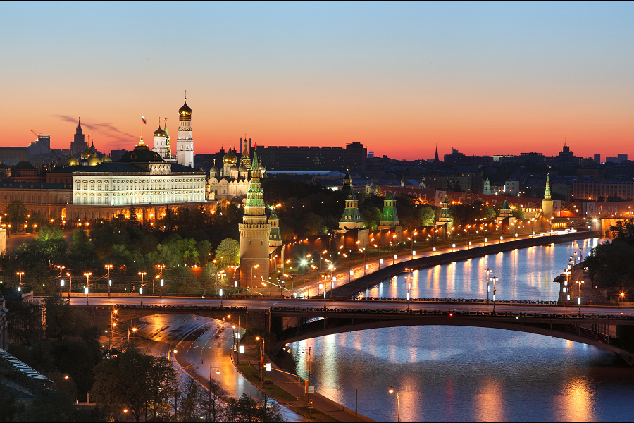 Top 10 moscow attractions